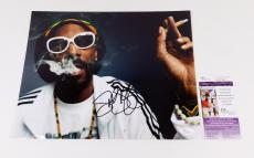 Snoop Dogg Signed 11 x 14 Color Photo Pose #2  JSA Auto
