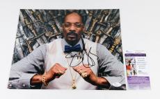 Snoop Dogg Signed 11 x 14 Color Photo Pose #3  JSA Auto