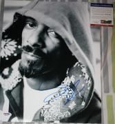 Snoop Dogg signed 11 x 14, Doggy Style, Rap, Deep Cover, Proof, PSA/DNA, COA