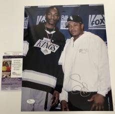 SNOOP DOGG signed 11X14 Photo Picture Death Row Rapper Rap Dr. Dre JSA Authentic