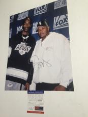SNOOP DOGG signed 11X14 Photo Picture Death Row Rapper Rap Dr. Dre PSA DNA