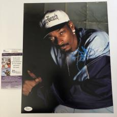 SNOOP DOGG signed 11X14 Photo Picture Rap Rapper Long Beach JSA Authenticated