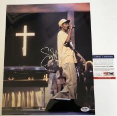 SNOOP DOGG signed 11X14 Photo Picture Rapper Rap Doggystyle PSA DNA Authentic