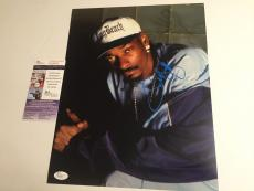 SNOOP DOGG signed 11X14 Photo Picture Rapper Rap Long Beach JSA Authenticated