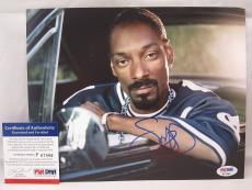 Snoop Dogg signed 8x10 autograph photo West Coast Rap PSA P67466