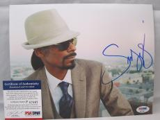 Snoop Dogg signed 8x10 autographed photo West Coast Rap PSA P67467
