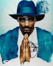 Snoop Dogg Signed 8x10 Photo PSA/DNA COA Doggystyle Doggfather Picture Autograph