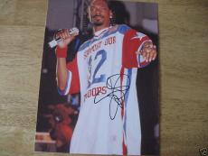 Snoop Dogg Signed 8x10 Photo The Dogfather  Autographed