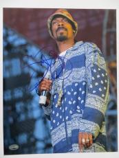 Snoop Dogg Signed Authentic Autographed 11x14 Photo (PSA/DNA) #J59007
