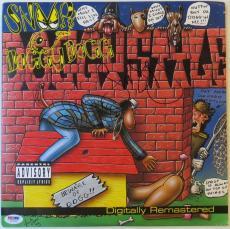 Snoop Dogg Signed Authentic Autographed Album Cover w/ Vinyl PSA/DNA #Z64168