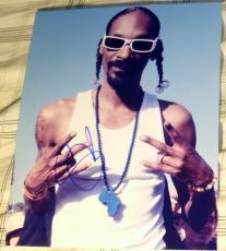 Snoop Dogg Signed Autograph Cool Rapper Thug Rare Promo Image 8x10 Photo Coa
