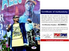 Snoop Dogg Signed - Autographed Rapper - Actor 8x10 inch Photo with PSA/DNA Authenticity - aka Calvin Broadus