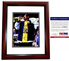 Snoop Dogg Signed - Autographed Rapper - Actor 8x10 inch Photo with PSA/DNA Authenticity MAHOGANY CUSTOM FRAME - aka Calvin Broadus