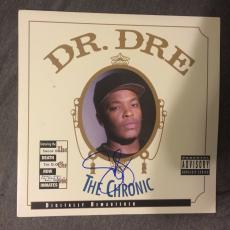 Snoop Dogg Signed Autographed Record Album Dr Dre The Chronic LP