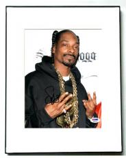 Snoop Dogg Signed Cute Hoodie & Chains Photo & Proof PSA DNA AFTAL