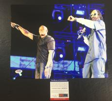 SNOOP DOGG SIGNED DOGGSTYLE 'WITH DR. DRE' 11x14 PHOTO PSA/DNA COA 2