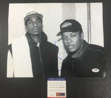 SNOOP DOGG SIGNED DOGGSTYLE 'WITH DR. DRE' 11x14 PHOTO PSA/DNA COA 4