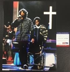 SNOOP DOGG SIGNED THA DOGGFATHER 'LIVE ON STAGE' 11x14 PHOTO PSA/DNA COA 1