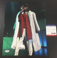 SNOOP DOGG SIGNED THA DOGGFATHER 'LIVE ON STAGE' 11x14 PHOTO PSA/DNA COA 4