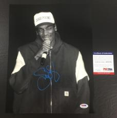 SNOOP DOGG SIGNED THA DOGGFATHER 'LIVE ON STAGE' 11x14 PHOTO PSA/DNA COA 7