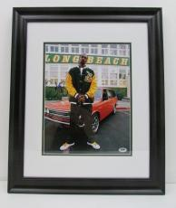 Snoop Dogg Signed/Autographed Framed 11x14 Photo PSA/DNA W48995