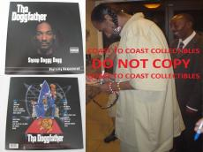 Snoop Dogg,rapper,signed,autographed,doggfather Album With Vinyl,coa,proof,rap