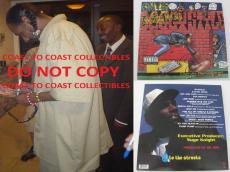 Snoop Dogg,rapper,signed,autographed,doggystyle Album With Vinyl,coa,proof,rap.
