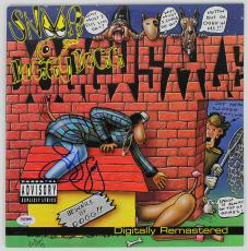 """Snoop Doggy Dogg """"doggy Style"""" Signed Album Cover Psa/dna Gem Mint 10 T51375"""