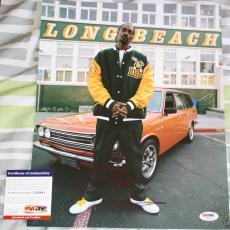 SNOOP LION Snoop Dogg signed 11 x 14, Rap, OG, Gin & Juice, Proof, PSA/DNA, COA