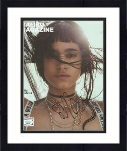 Sofia Boutella Signed Autographed Malibu Magazine Cover June 2017 JSA FF06378