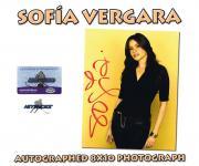SOFIA VERGARA - Signed SEXY 8X10 PHOTO - (MODERN FAMILY) w/COA