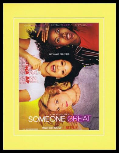 Someone Great 2019 Netflix Framed 11x14 ORIGINAL Advertisement Gina Rodriguez