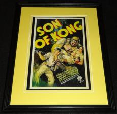 Son of Kong Framed 11x14 Poster Display Official Repro Robert Armstrong