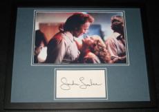 Sondra Locke Signed Framed 11x14 Photo Display w/ Clint Eastwood