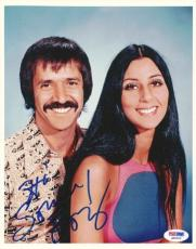 Sonny Bono Autographed Signed 8x10 Photo PSA/DNA #Q90403