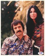 Sonny Bono Autographed Signed 8x10 Photo PSA/DNA #Q90404