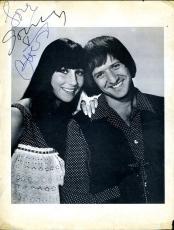 Sonny Bono Cher Jsa Authentic Signed 1960`s 70`s 8x10 Autograph