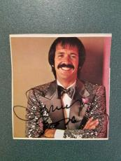 Sonny Bono-signed magazine clipping-(pose 16)
