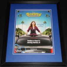 Sonny With a Chance 2008 11x14 Framed ORIGINAL Advertisement Demi Lovato
