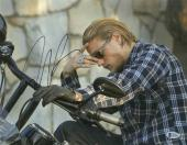 SONS OF ANARCHY CHARLIE HUNNAM SIGNED 11x14 PHOTO AUTHENTIC AUTOGRAPH BECKETT