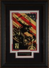 SONS OF ANARCHY Charlie Hunnam Signed 11x17 Poster Framed