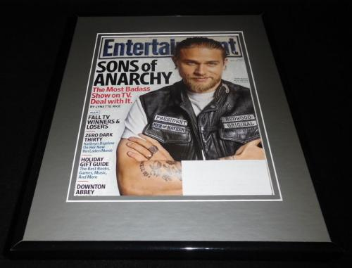 Sons of Anarchy Framed ORIGINAL 2012 Entertainment Weekly Cover Charlie Hunnam