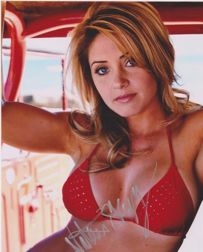 Sons of Anarchy NATALIE SKYY Signed 8x10 Photo