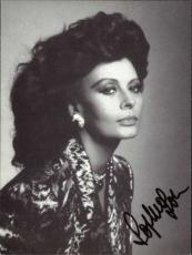 Sophia Loren Actress Signed Small Photo 4x6 Id #27487