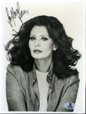 Sophia Loren Bas Beckett Authentication Coa Hand Signed 6x9 Photo Autograph