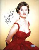 Sophia Loren Bas Beckett Coa Hand Signed 8x10 Photo Authenticated Autograph 6