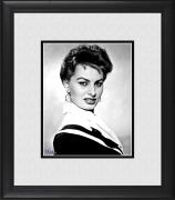 "Sophia Loren Framed 8"" x 10"" Portrait Photograph"
