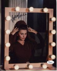 SOPHIA LOREN HAND SIGNED 8x10 COLOR PHOTO+COA         STUNNING ACTRESS     JSA