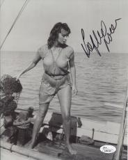 SOPHIA LOREN HAND SIGNED 8x10 PHOTO     WET+SEXY ACTRESS      SEXY POSE      JSA
