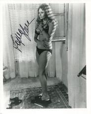 SOPHIA LOREN HAND SIGNED 8x10 PHOTO+COA       SEXY POSE IN BRA AND PANTIES